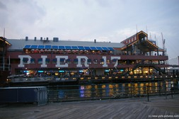 Pier 17 sign at South Street Seaport in Manhattan.jpg