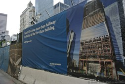 One WTC is now more than halfway to the top of the 104-floor building poster New York City.jpg