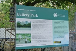Battery Park improvements completion date 2014 info poster Manhattan NYC.jpg