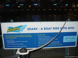 Shark Boat Ride by Circle Line Downtown at South Street Seaport in New York.jpg