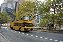 Big Taxi Tours bus in Manhattan New York.jpg
