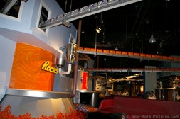 Reese's chocolate factory at Hershey's Chocolate Tour ride.jpg