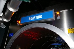 Roasting station as seen from Hershey's Chocolate Tour ride.jpg