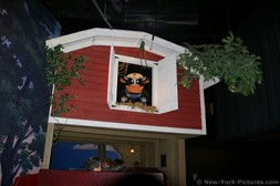 Cow on top of a barn during the Hershey's Chocolate Tour ride.jpg