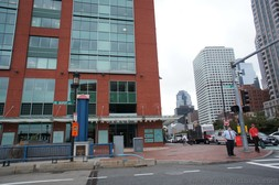 Entrance to Independence Wharf on Seaport Blvd Boston.jpg