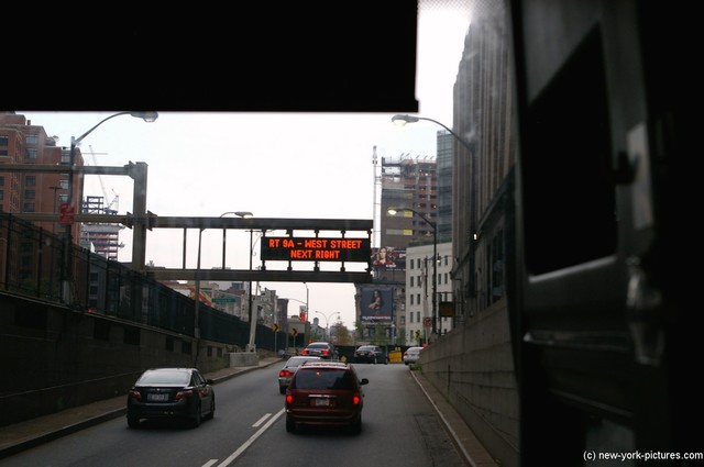 Exiting the Holland Tunnel and emerging in Manhattan New York City.jpg