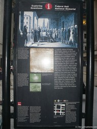 Federal Hall National Memorial sign near Wall Street in New York.jpg