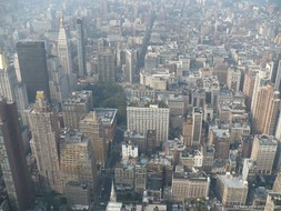 Flatiron area of Manhattan as viewed from the Empire State Building.jpg