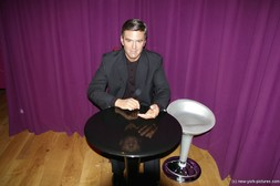 George Clooney wax figure at Madame Tussauds in New York