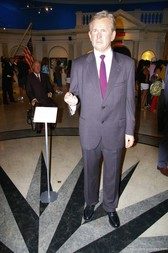 George W Bush wax figure at Madame Tussauds in New York