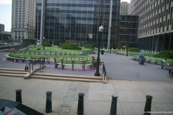 Green Benches at Federal Building for Immigration in Lower Manhattan.jpg
