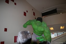 Incredible Hulk wax statue at Madame Tussauds Wax Museum in Manhattan New York.jpg