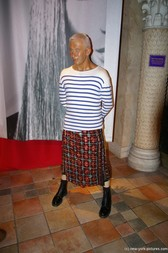 Jean Paul Gautier at Madame Tussauds in New York City.jpg